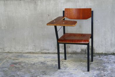 21097746 - wooden school chair